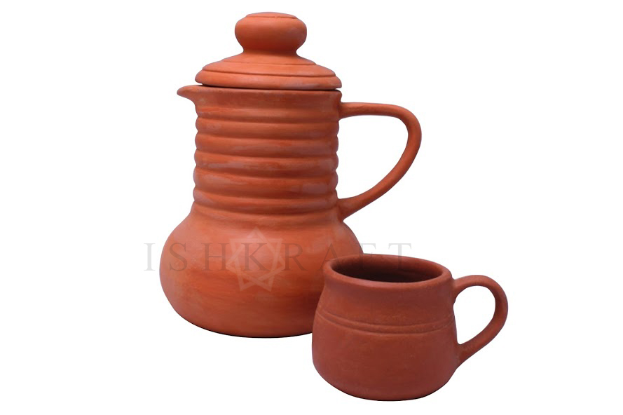 Clay Jug and Cup