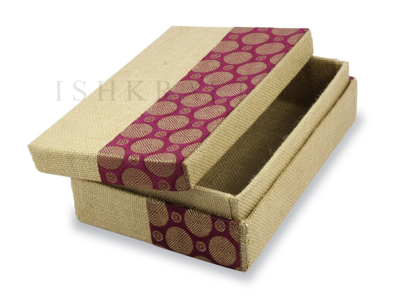 Jute Covered Box