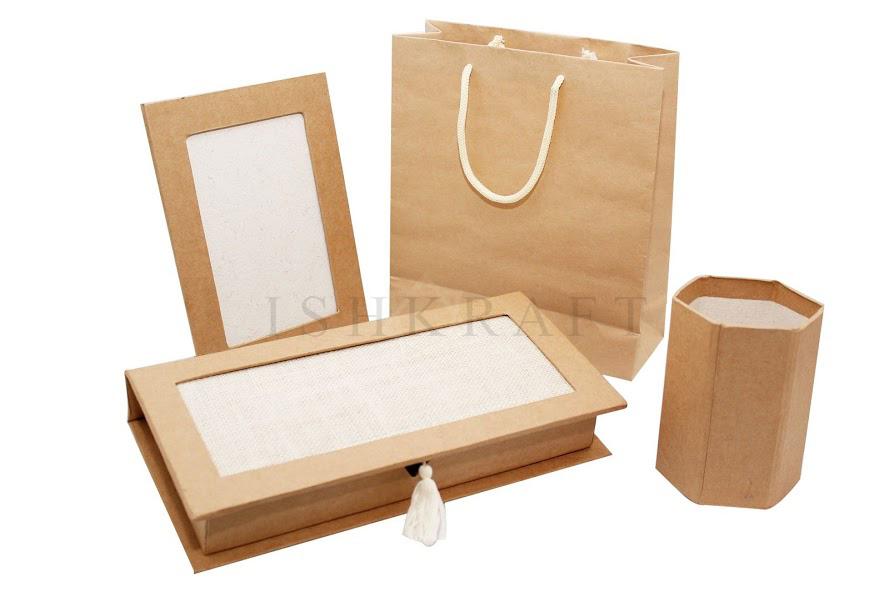 Paper Gift Kit Natural Finish