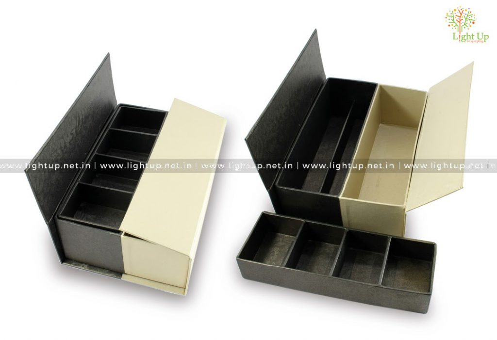 Storage Box with Compartments