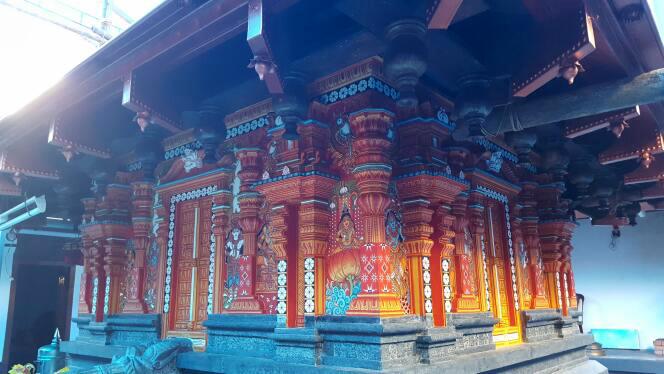 Kerala Mural Temple Wall Painting